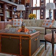 Фотография: Гостиная в стиле Кантри, Эклектика, Дом, Дома и квартиры, Колониальный – фото на InMyRoom.ru