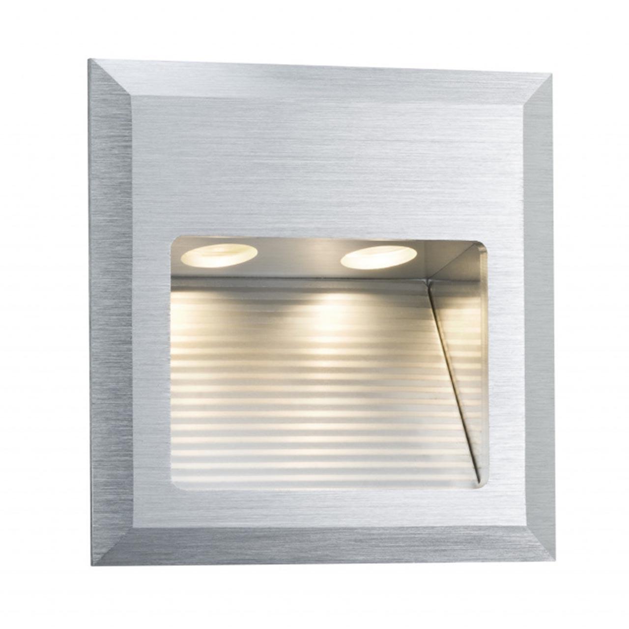 Купить Встраиваемый светодиодный cветильник Wall Led Quadro серого цвета, inmyroom, Германия