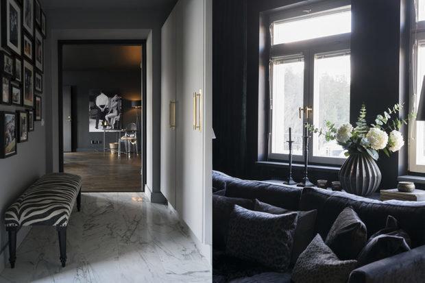 Фотография:  в стиле , Декор интерьера, Квартира, Швеция, Черный, 2 комнаты – фото на InMyRoom.ru