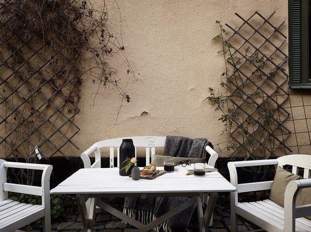 Фотография: Терраса в стиле , Декор интерьера, Квартира, Швеция, 2 комнаты, 40-60 метров – фото на INMYROOM