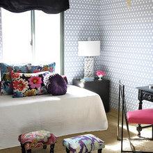 Фотография: Декор в стиле Кантри, Гостиная, Спальня, Современный, Мебель и свет, Белый, Отель, Переделка, Черный, Голубой – фото на InMyRoom.ru