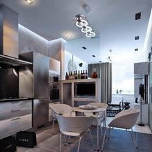 Фото из портфолио Квартира для молодого человека – фотографии дизайна интерьеров на InMyRoom.ru