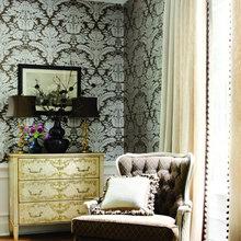 Фотография: Декор в стиле Классический, Современный, Стиль жизни, Советы, Обои – фото на InMyRoom.ru