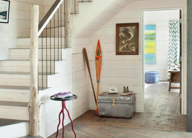 Фотография: Прихожая в стиле Эко, Декор интерьера, Дом, США, Дача, Коричневый – фото на INMYROOM