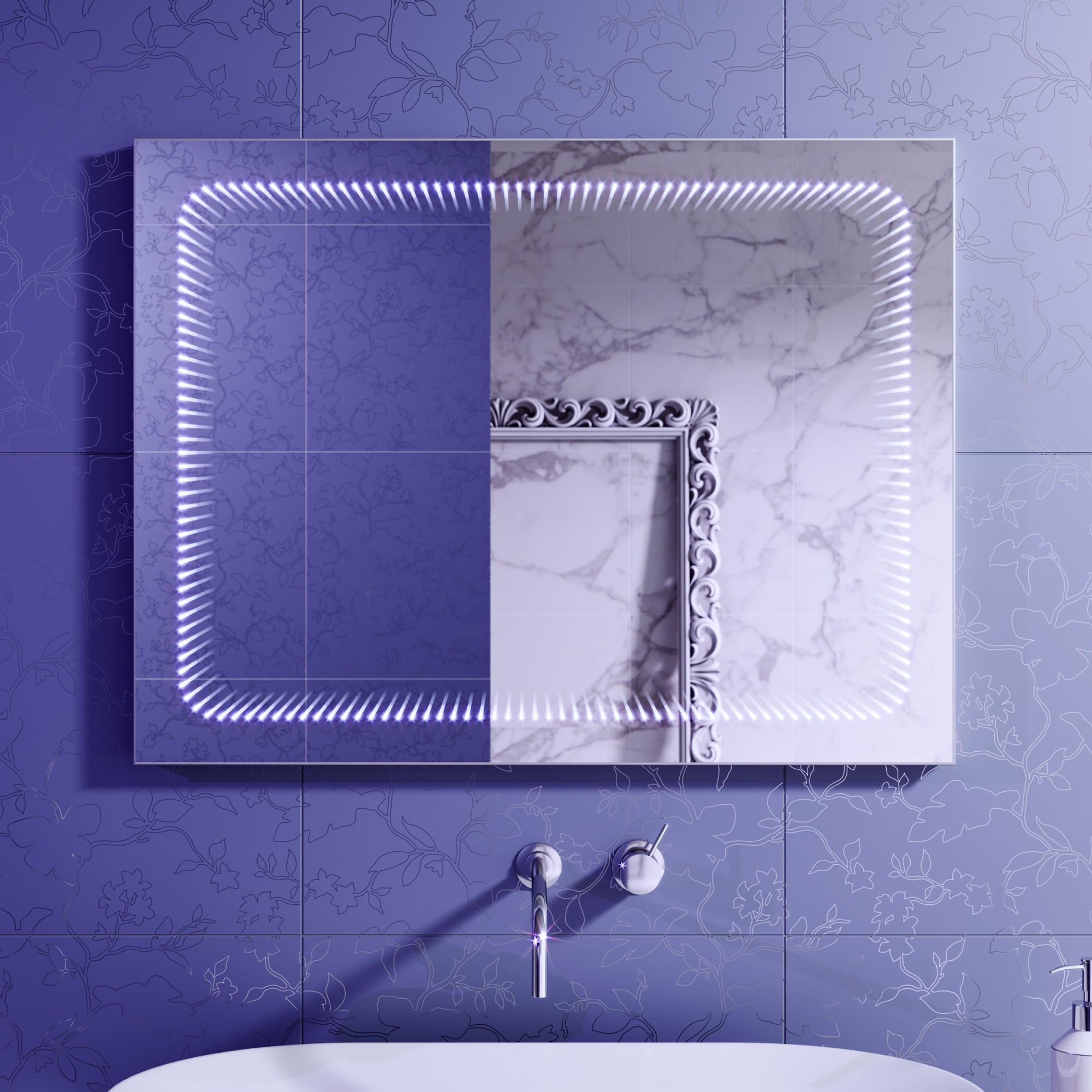 Зеркало с подсветкой Infiniti 70