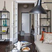 Фото из портфолио Московская квартира – фотографии дизайна интерьеров на INMYROOM