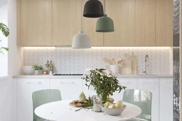 Фотография: Кухня и столовая в стиле Скандинавский, Советы, Павел Герасимов, Geometrium – фото на InMyRoom.ru