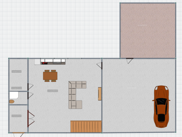 Помогите с планировкой дома, комнат!