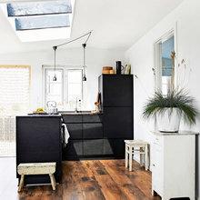 Фото из портфолио Маленький коттедж с большой террасой – фотографии дизайна интерьеров на InMyRoom.ru
