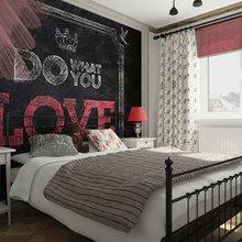 Фотография: Спальня в стиле Лофт, Эклектика, Квартира, Дома и квартиры, IKEA, Проект недели – фото на InMyRoom.ru