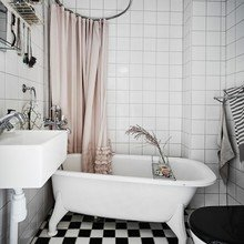 Фотография: Ванная в стиле Скандинавский, Декор интерьера, Квартира, Швеция – фото на InMyRoom.ru