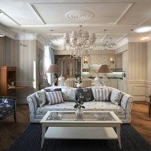 Фото из портфолио Тепло уюта. Дизайн проект гостиной. Санкт-Петербург. – фотографии дизайна интерьеров на INMYROOM