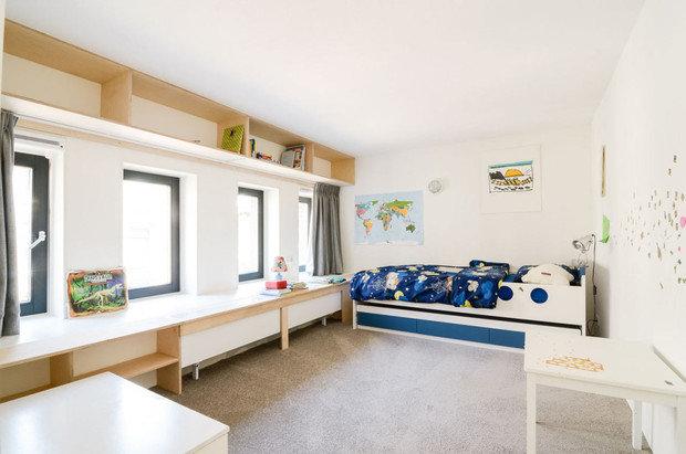 Фото из портфолио Амстердам : Старые школы превращаются в современные квартиры – фотографии дизайна интерьеров на INMYROOM