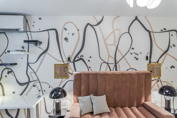 Фотография: Гостиная в стиле , Декор интерьера, Интерьер комнат, Хрущевка – фото на InMyRoom.ru