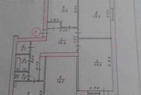 помогите перепланировать 4х комнатную квартиру