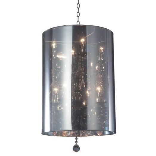 Подвесная люстра Moooi Light Shade с  хромированным железным основанием