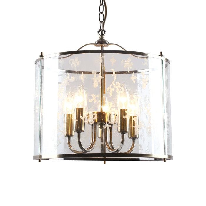 Подвесная люстра Arte Lamp Bruno в замковом стиле
