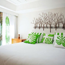 Фотография: Спальня в стиле Эко, Дома и квартиры, Городские места, Отель, Бразилия – фото на InMyRoom.ru