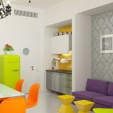 """Фото из портфолио Лофт-апартаменты в """"Парке мира"""" - 33 м2 – фотографии дизайна интерьеров на InMyRoom.ru"""