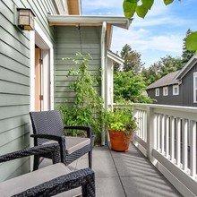 Фотография: Балкон в стиле Кантри, Декор интерьера, Дом – фото на InMyRoom.ru