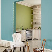 Фотография: Кухня и столовая в стиле Кантри, Декор интерьера, Дизайн интерьера, Цвет в интерьере, Dulux, ColourFutures, Akzonobel, Краски – фото на InMyRoom.ru