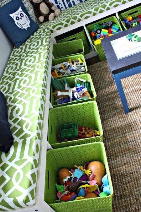 Фотография: Детская в стиле , Интерьер комнат, Системы хранения – фото на InMyRoom.ru