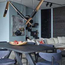 Фотография: Гостиная в стиле Современный, Квартира, Проект недели, 3 комнаты, Более 90 метров, Светлогорск, Марина Кутузова, Дизайн-студия «Детали» – фото на InMyRoom.ru