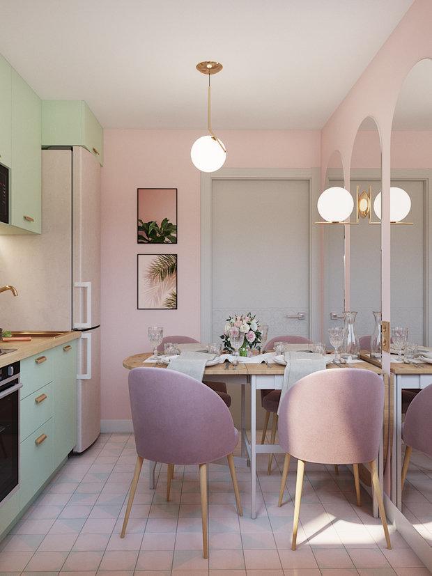 Фотография: Кухня и столовая в стиле Современный, Декор интерьера, Карта покупок, Надежда Каппер, Хрущевка – фото на InMyRoom.ru