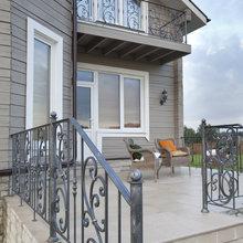 Фотография: Балкон, Терраса в стиле , Кантри, Классический, Дом, Дома и квартиры, IKEA, Проект недели, Дача, Dulux, Zara Home, Интерьерная Лавка – фото на InMyRoom.ru