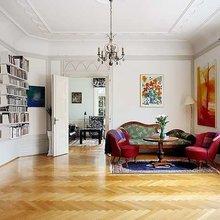 Фотография: Гостиная в стиле Кантри, Скандинавский, Дизайн интерьера – фото на InMyRoom.ru