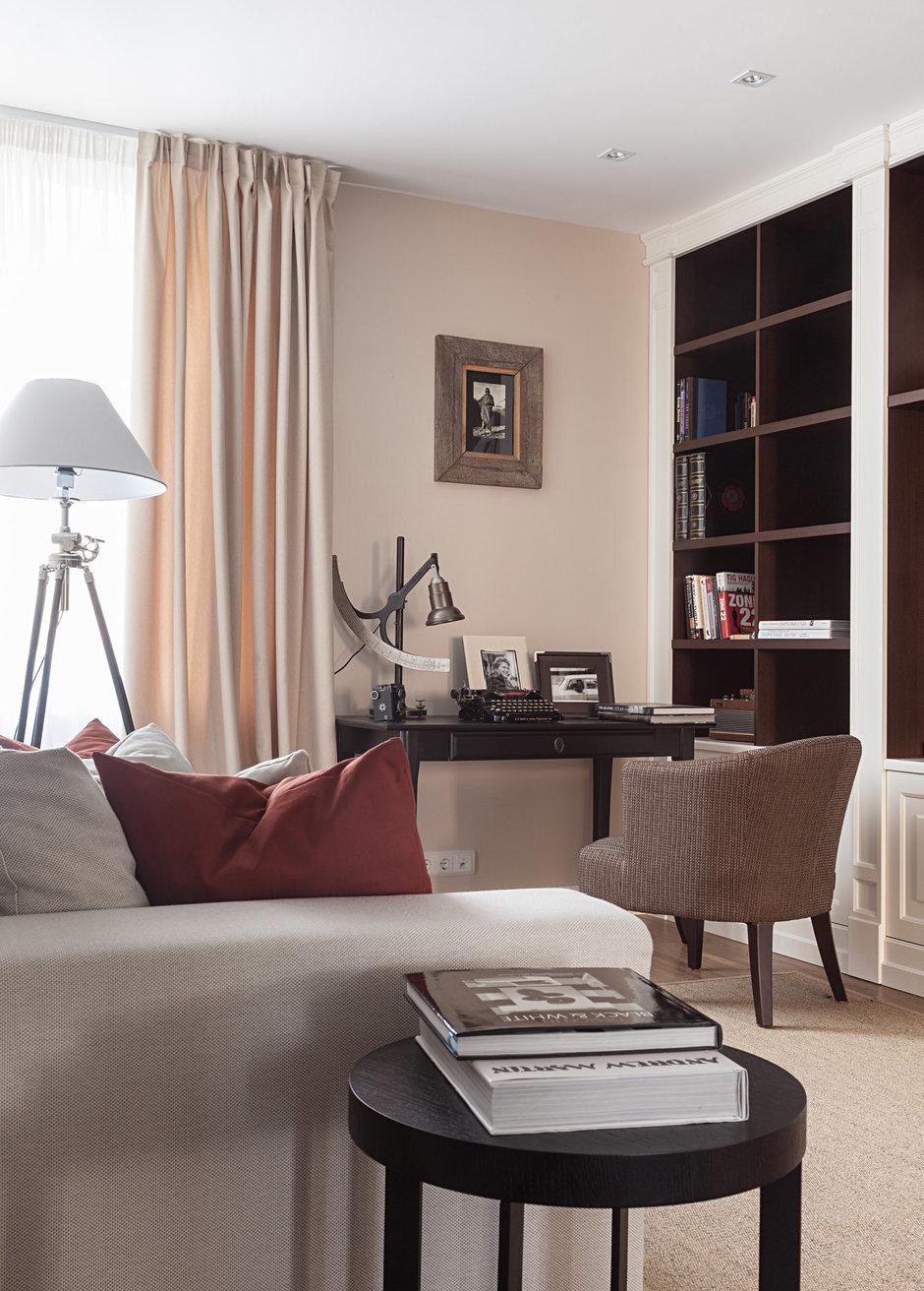 Фотография: Гостиная в стиле Современный, Восточный, Эклектика, Классический, Квартира, Дома и квартиры, IKEA, Проект недели, Дина Салахова – фото на InMyRoom.ru