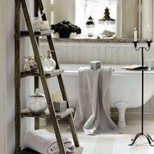 Фотография: Ванная в стиле Скандинавский, Декор интерьера, Декор дома, Советы, Лестница – фото на InMyRoom.ru