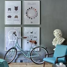 Фото из портфолио Cтильный ретро - офис – фотографии дизайна интерьеров на InMyRoom.ru