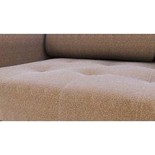 Диван-кровать угловой АТЛАНТА ткань Shaggy Mocca
