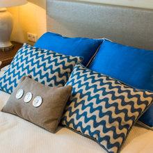 Фотография: Спальня в стиле Современный, Декор интерьера, Интерьер комнат, Морской – фото на InMyRoom.ru