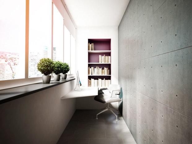 Фотография: Балкон, Терраса в стиле Современный, Интерьер комнат, Минимализм – фото на InMyRoom.ru