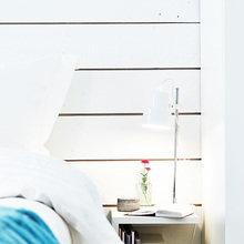 Фотография: Спальня в стиле Скандинавский, Современный, Декор интерьера, Квартира, Цвет в интерьере, Дома и квартиры, Стены, Гетеборг – фото на InMyRoom.ru