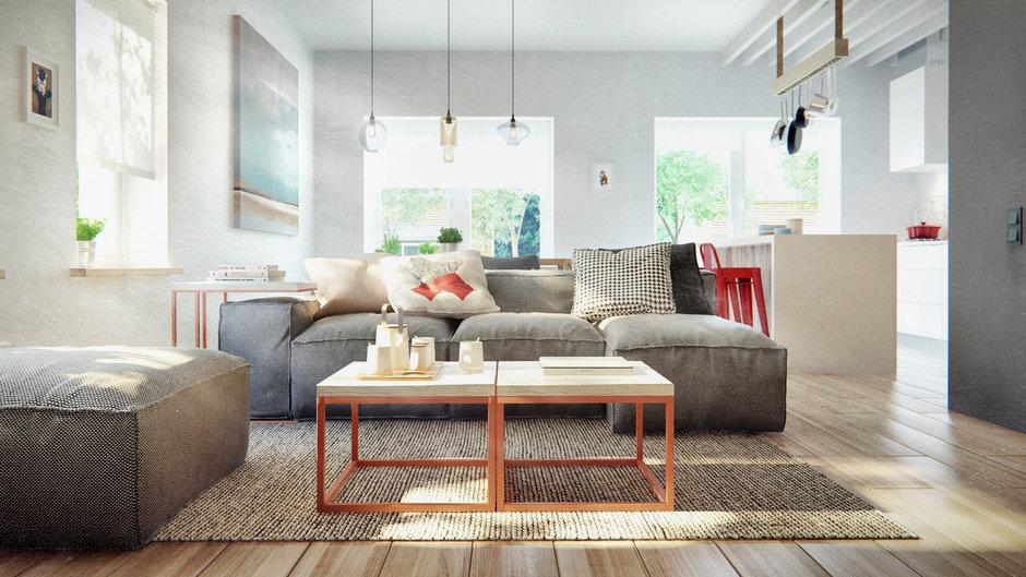Фотография: Гостиная в стиле Лофт, Современный, Дом, Дома и квартиры, IKEA, Проект недели – фото на InMyRoom.ru