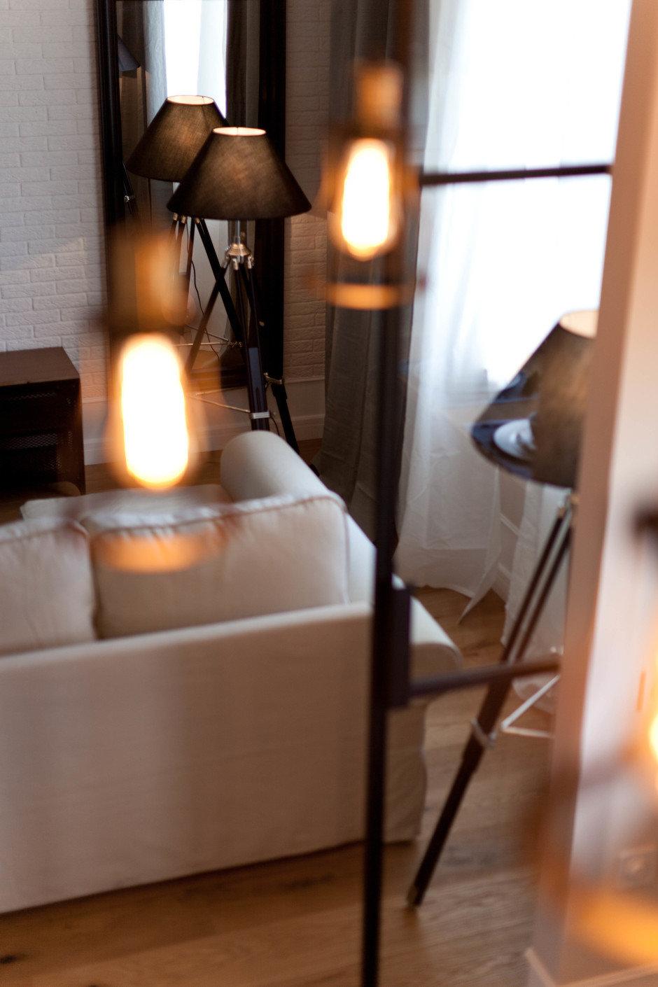 Фотография:  в стиле , Лофт, Скандинавский, Квартира, Проект недели, Москва, Сталинка, 2 комнаты, 40-60 метров, Анна Сухая – фото на InMyRoom.ru