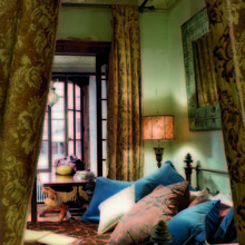 Фотография: Спальня в стиле Кантри, Лофт, Декор интерьера, Квартира, Дома и квартиры, Интерьеры звезд – фото на InMyRoom.ru