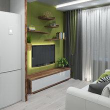 Фото из портфолио Кухня площадью 16 кв м – фотографии дизайна интерьеров на InMyRoom.ru