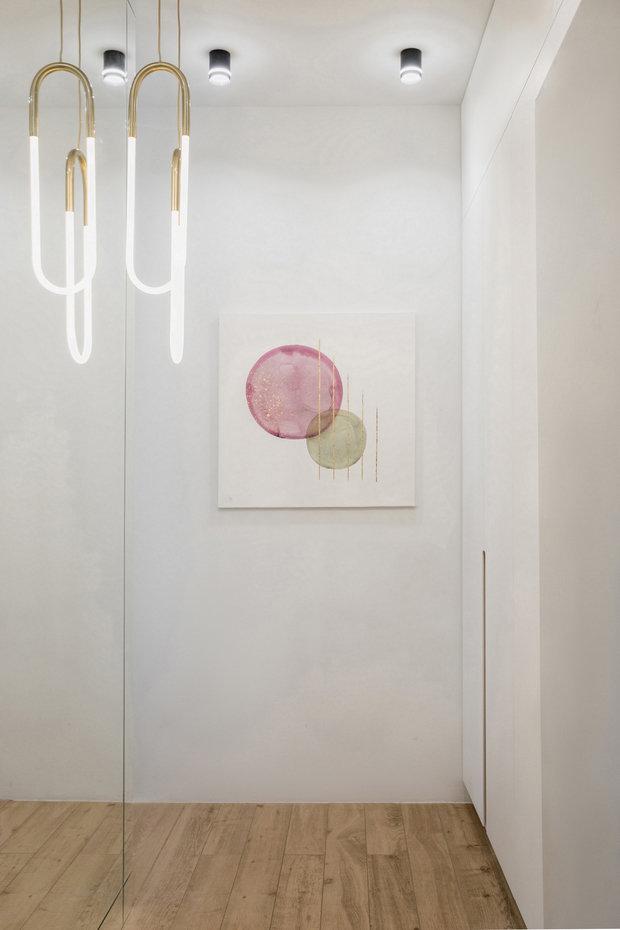 Фотография: Прихожая в стиле Современный, Квартира, Проект недели, Москва, 3 комнаты, 60-90 метров, Более 90 метров, Own Design – фото на INMYROOM