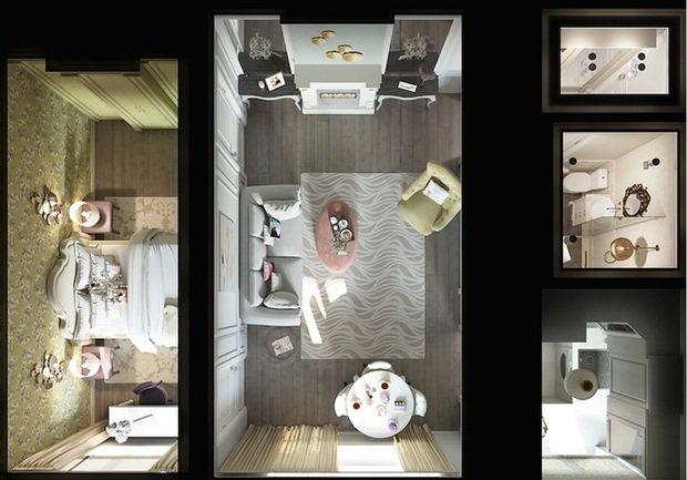 Фотография:  в стиле , Переделка, Ремонт на практике, Интервью, Manders, Ольга Куликовская-Эшби, Interior Box – фото на InMyRoom.ru