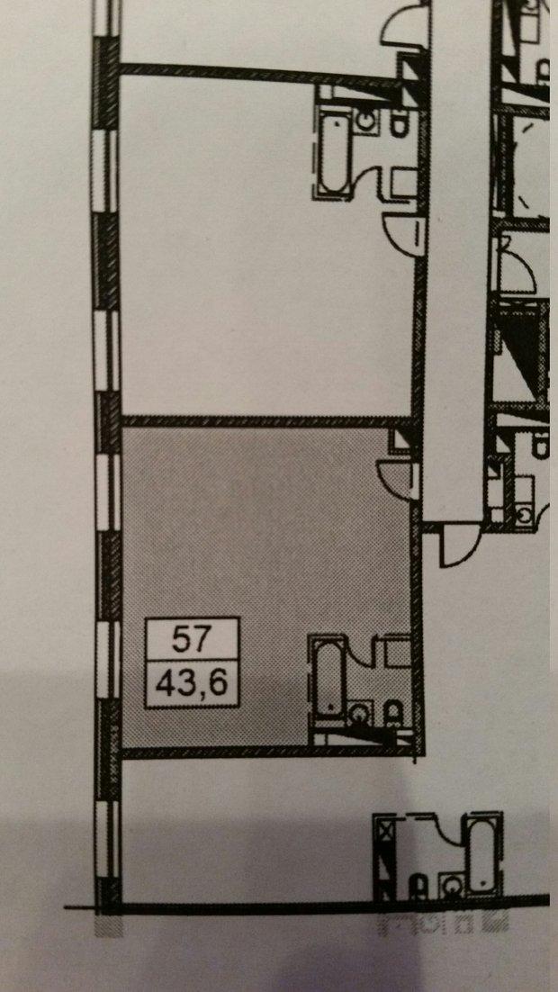 Из 1-комнатной квартиры 2-комнатная  для молодой семьи