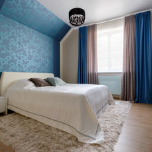 Фото из портфолио Спальня в синих тонах – фотографии дизайна интерьеров на INMYROOM