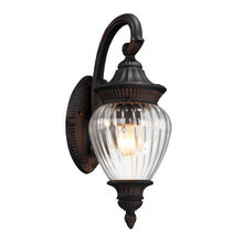 Настенный уличный светильник Saint Paul Savoy House из кованного металла
