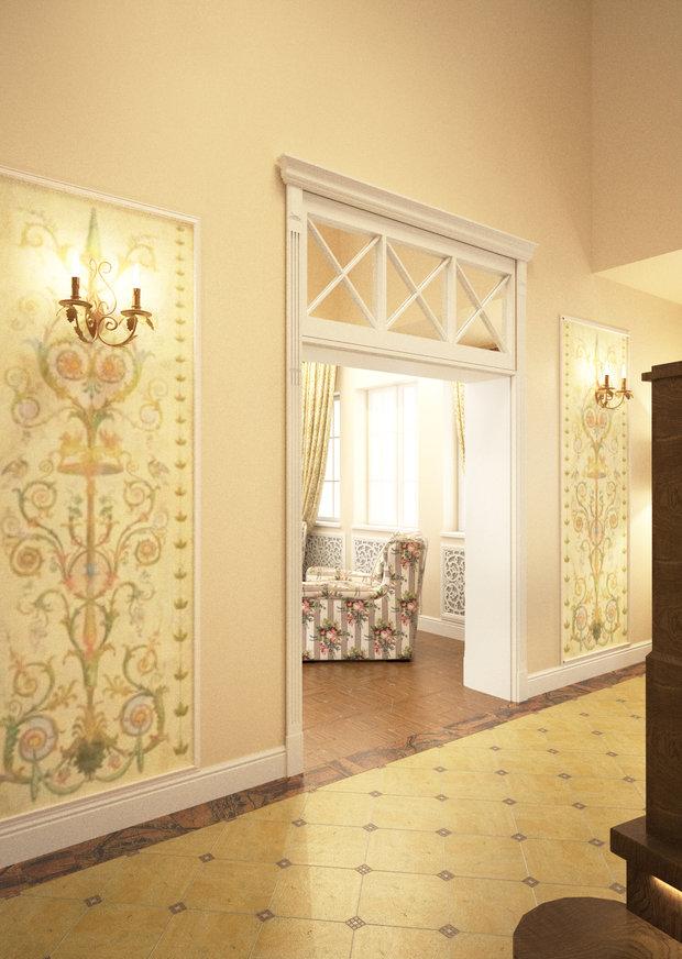 Фото из портфолио Классический интерьер в итальянском стиле. – фотографии дизайна интерьеров на INMYROOM