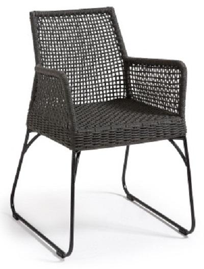 Кресло Julia Grup Novak темно-серый