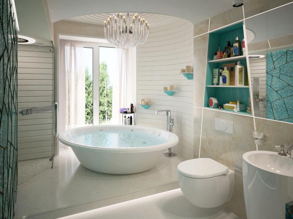 Фотография: Ванная в стиле Современный, Эклектика, Лофт, Квартира, Перепланировка – фото на InMyRoom.ru