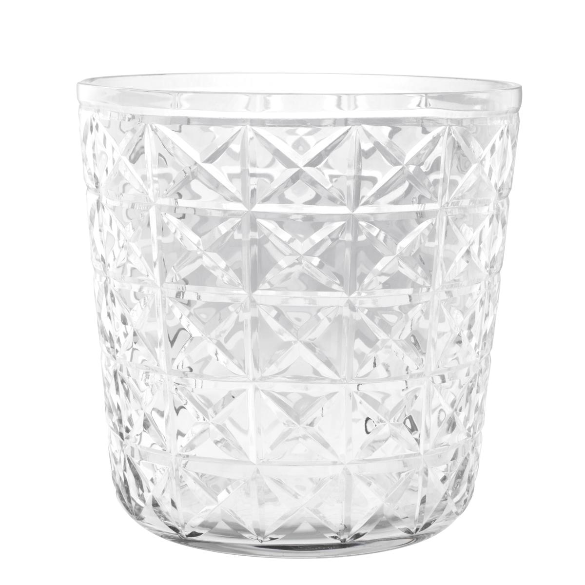 Купить со скидкой Ведро для льда Chablis из фактурного прозрачного стекла